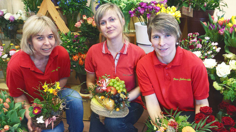 Gartenbau Rößler Team